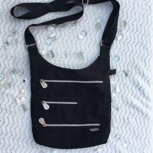 EUC Baggallini Black Crossbody Bag